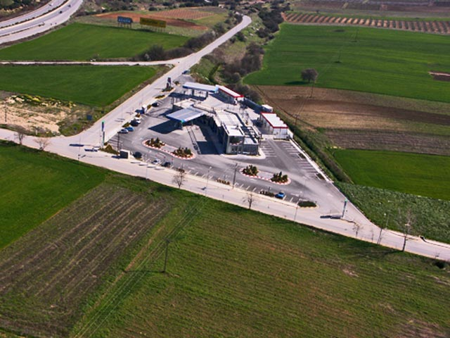 "Project of paving of the surrounding area in the private facilities of the company ""TIKTAS INDUSTRIAL S.A."" in the area of Efkarpia – Thessaloniki."